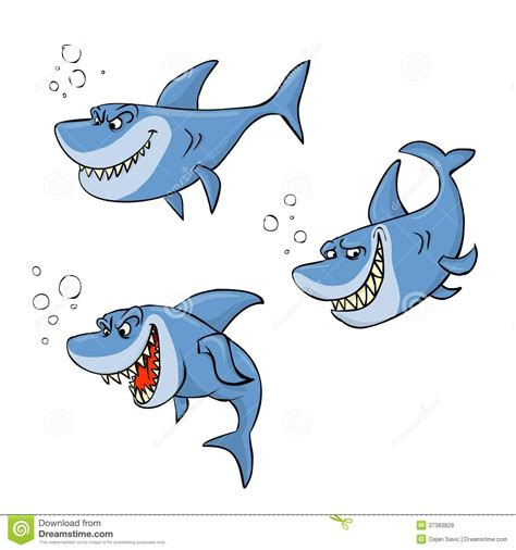 baby shark x2 shark cartoon stock illustration illustration of art