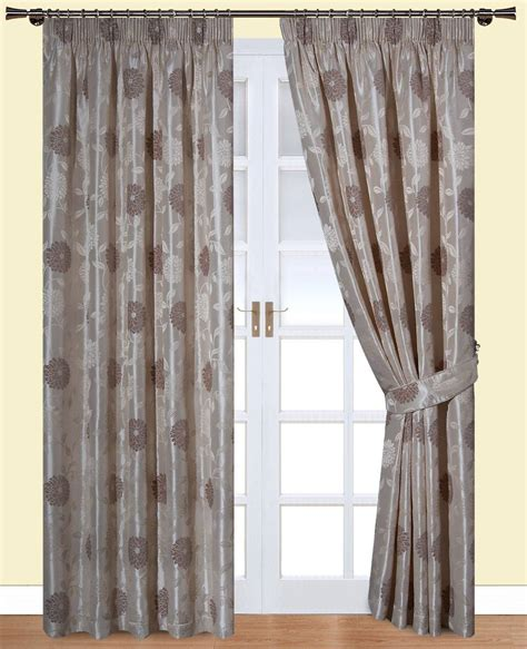 Clara Natural Belfield Curtains Net Curtain 2 Curtains