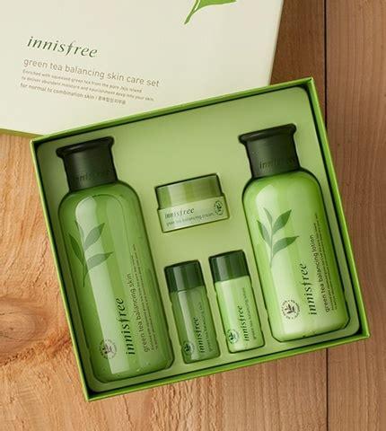 Innisfree Green Tea Balancing Special Skin Care Set Original bá dæ á ng da tr 192 xanh innisfree green tea balancing skin