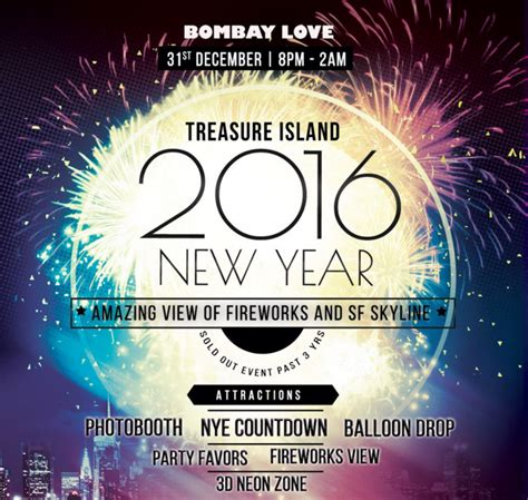 new year events san francisco 2016 nye 2016 with fireworks view at treasure