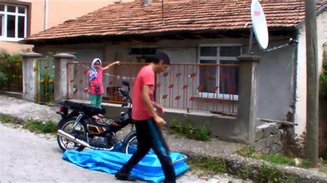 portatif el yapimi motosiklet garaji youtube