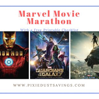 marvel film marathon pixie dust savings doing disney on a budget