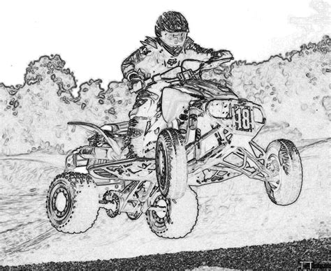 coloring pages quads atv coloring pages