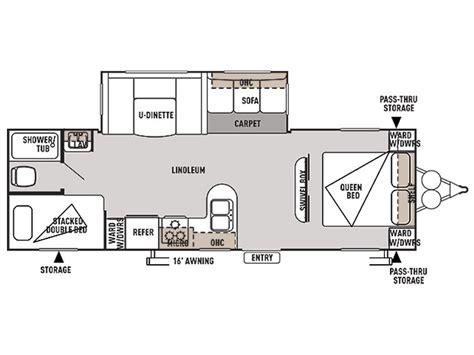 wildwood travel trailer floor plans 2015 wildwood 28dbud floor plan travel trailer