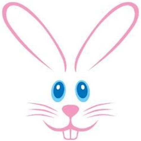 printable easter bunny eyes easter bunny face clipart eyes clipground