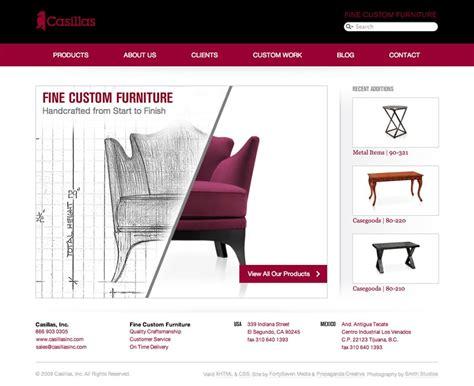 Casillas Custom Furniture Website Portfolio Fortyseven Furniture Design Portfolio