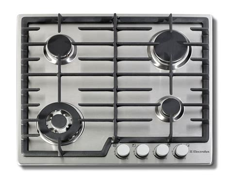 24 In Gas Cooktop - electrolux 24 inch gas cooktops in stainless steel the