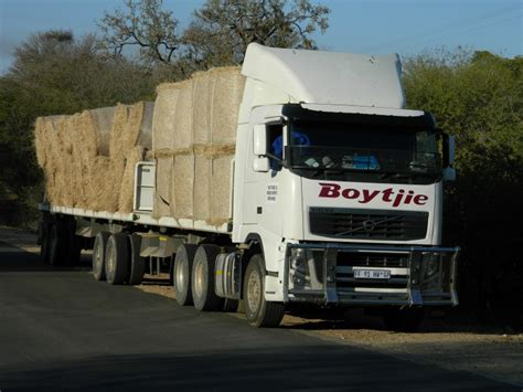 volvo trucks south africa trucks of feed help save lionspruit s wildlife