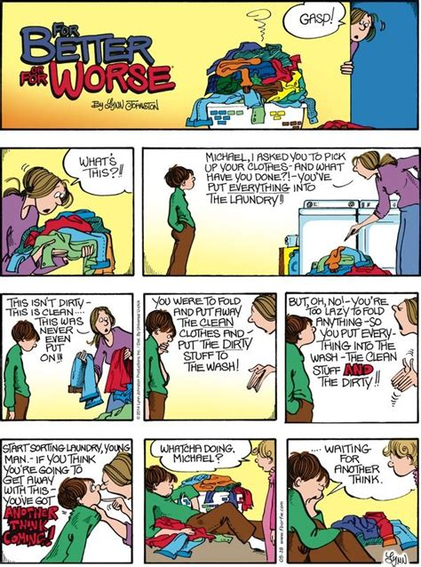 for better or worse comic pin by social munch on comic strips