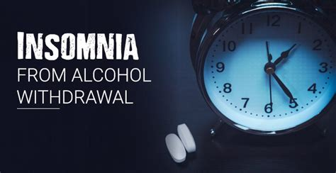 Detox Insomnia Help by Insomnia From Withdrawal