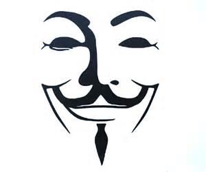 guy fawkes v for vendetta 4 vinyl logo decal sticker for