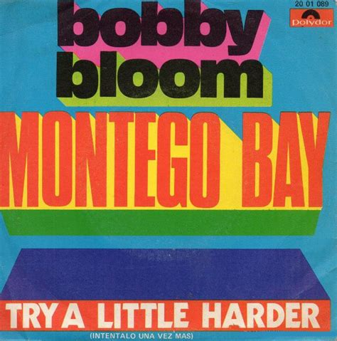 bobby bloom montego bay bobby bloom montego bay try a harder vinyl 7