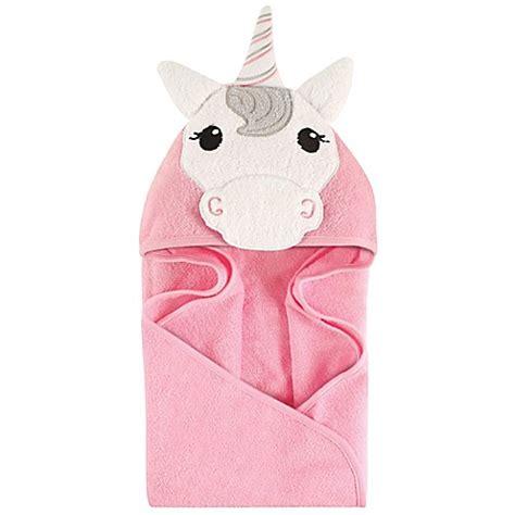 Palmerhaus Baby Towel Pink hudson baby 174 unicorn hooded towel in pink white bed bath beyond
