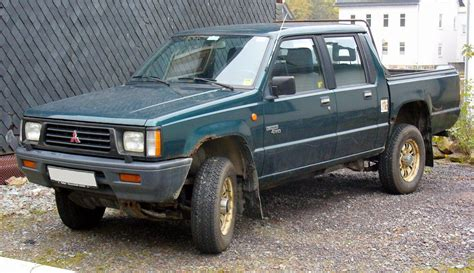 mitsubishi trucks 1990 1990 mitsubishi mighty max pickup information and photos