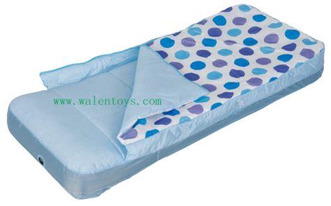 toddler outdoor travel air mattress bed w rails