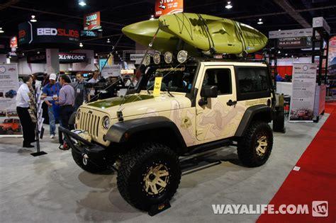 2012 Sema Rugged Ridge Tan 2 Door Jeep Jk Wrangler
