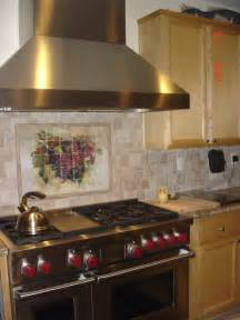 traditional backsplashes for kitchens wine grape tumbled marble kitchen backsplash traditional kitchen san francisco by
