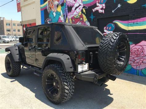 jeep wrangler custom black 2016 custom jeep wrangler unlimited black edition
