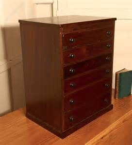 Small Filing Cabinet Small Mahogany Filing Cabinet Collectors Cabinet Antiques Atlas