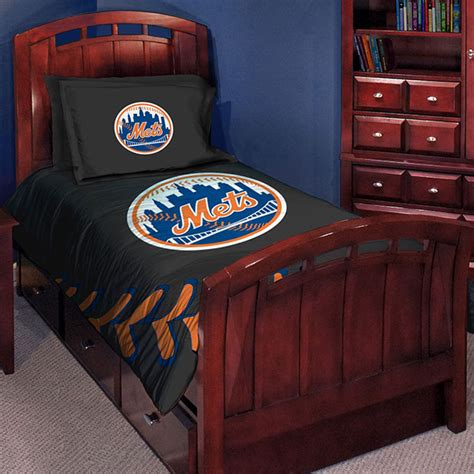 new york mets mlb twin comforter set 63 quot x 86 quot