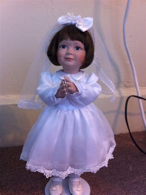 ashton drake  communion porcelain doll