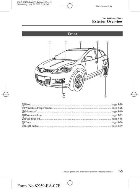 2007 cx 7 mazda parts diagram wiring diagrams wiring diagram