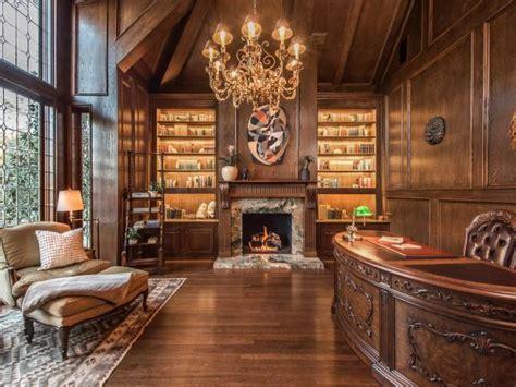 victorian library  hgtv