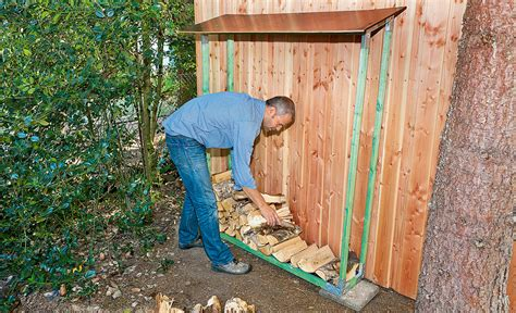 gestell f r brennholz brennholz unterstand bauen holzlager f r brennholz