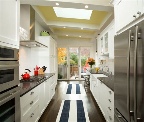 home brothers design brooklyn rowhouse renovation transitional kitchen dc metro