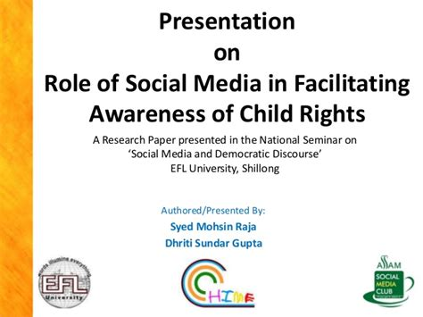 thesis about social media in the philippines role of social media in facilitating child rights awareness