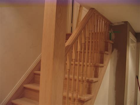 how to install banister on stairs basement stair railing reviews jeffsbakery basement