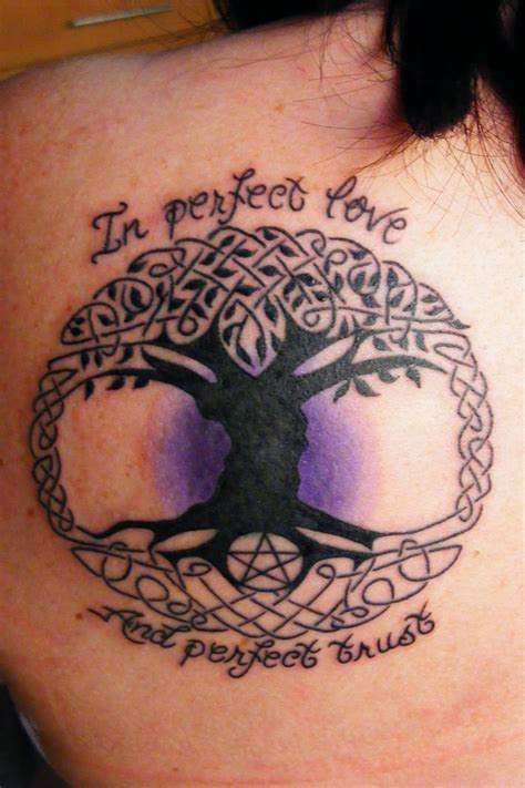 pagan tattoo tribal tattoos designs celtic family tree tattoos designs