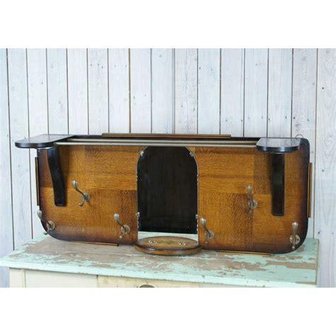 spiegel kapstok oude houten kapstok met spiegel wandkapstok