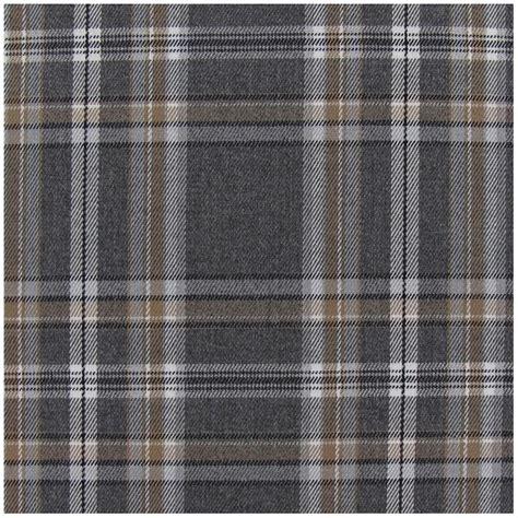 Grey Tartan Upholstery Fabric by Tartan Ecossais Tiles Fabric Grey X10 Cm Ma