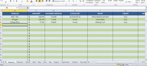 receipt tracker template send a 12 month receipt tracking spreadsheet