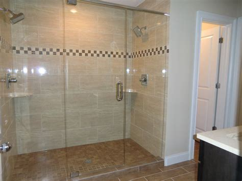 Walk In Shower Ideas For Bathrooms by Master Bath With Double Headed Quot Party Quot Shower All