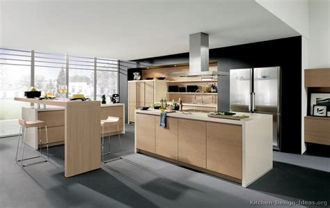contemporary wood kitchen cabinets modern light wood kitchen cabinets pictures design ideas
