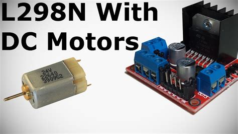 arduino tutorial dc motor l298n with dc motors tutorial how to control dc motor