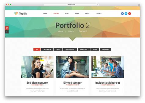 Portfolio Template 18 Best Portfolio Website Templates Html Wordpress 2017 Colorlib Template Portfolio Website Html Template