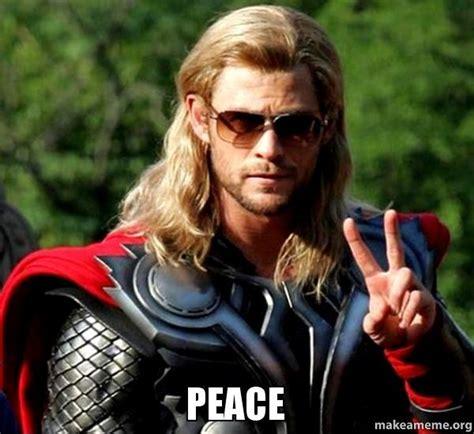 Peace Meme - peace make a meme
