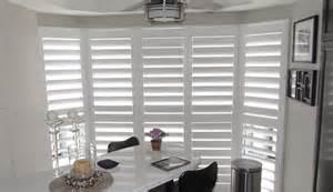 Curtains For A Bow Window california shutters burlington vinyl shutters blind