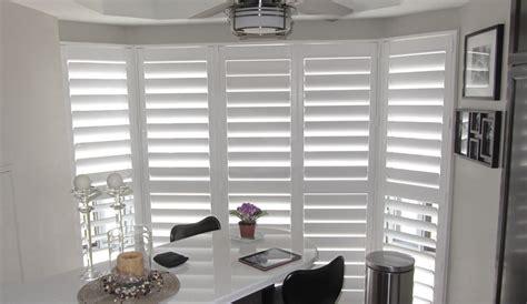 Blinds For Bow Windows california shutters burlington vinyl shutters blind