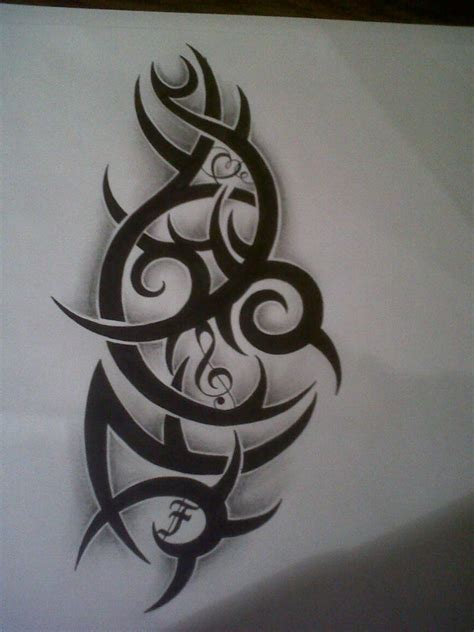 music tribal tattoo designs search results tattooed images