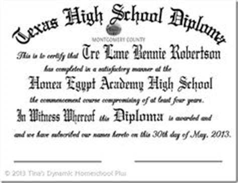 high school diploma template pdf homeschool high school resources on high