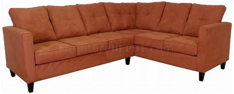 Wooden Sectional Sofa by Persimmon Fabric Modern Sectional Sofa W Wooden Legs