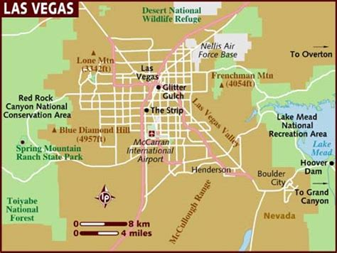 america map las vegas map of las vegas