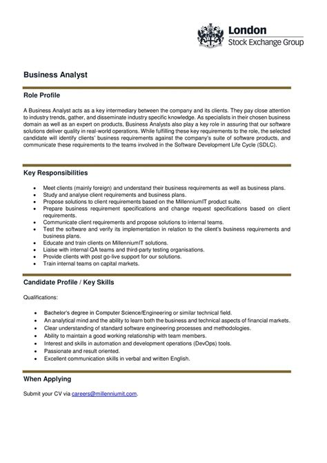Ba Roles And Responsibilities by Differences Duties And Responsibilities Of Business Analysts And System Analysts Roles