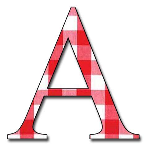 Letter Png Enchanted S Free Gingham Digi Scrapbook Alphabet