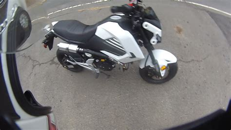 boom vader exhaust test top speed ish run vader boom 125cc youtube