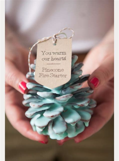 pine cone fire starter wedding favors pictures   images  facebook tumblr